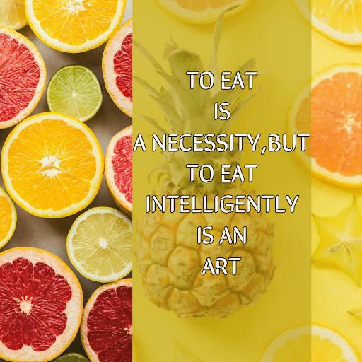 EATING INTELLIGENTLY